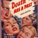 Death Has a Past, Anita Boutell, Vintage Paperback Book, Bantam #897, Mystery