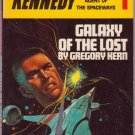 Galaxy of the Lost, Gregory Kern, Vintage Paperback Book, Daw #UT-1073, Science Fiction