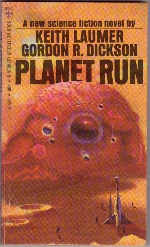 Planet Run, Laumer, Dickson, Vintage Paperback Book, Berkley #X1588, Science Fiction