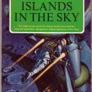 Islands In the Sky, Clarke, Vintage Paperback Book, Signet #KD-510, Science Fiction