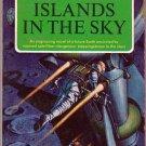Islands In the Sky, Clarke, Vintage Paperback Book, Signet #KD-510, Science Fiction