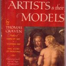 Famous Artists & Their Models, Thomas Craven, Vintage Paperback, Pocket Books #579, Reference
