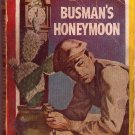 Busman&#39;s Honeymoon, Dorothy L. Sayers, Vintage Paperback, Pocket Book #324, Mystery