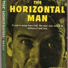 The Horizontal Man, Helen Eustis, Vintage Paperback, Pocket Books #557, Murder Mystery