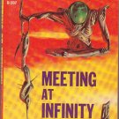 Meeting At Infinity/Beyond the Silver Sky, Vintage Paperback Book, Ace #D-507, Science Fiction