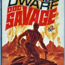 The Deadly Dwarf, Doc Savage, Kenneth Robeson, Vintage Paperback Book, Bantam, Adventure