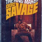 The King Maker, Doc Savage, Kenneth Robeson, Vintage Paperback Book, Bantam, Adventure