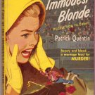 The Fate of the Immodest Blonde, Patrick Quentin, Vintage Paperback, Pocket Book #676, Mystery