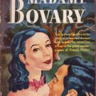 Madame Bovary, Gustave Flaubert, Vintage Paperback, Pocket Book #240, Romance Classic