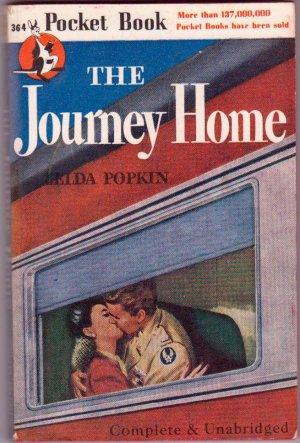 The Journey Home, Zelda Popkin, Vintage Paperback, Pocket Book #364, War, Romance