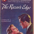 The Razor's Edge, Maugham, Vintage Paperback, Pocket Book #418, Romance