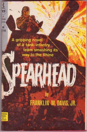 Spearhead, Franklin M. Davis Jr., Vintage Paperback, Perma Books #M-3118, War