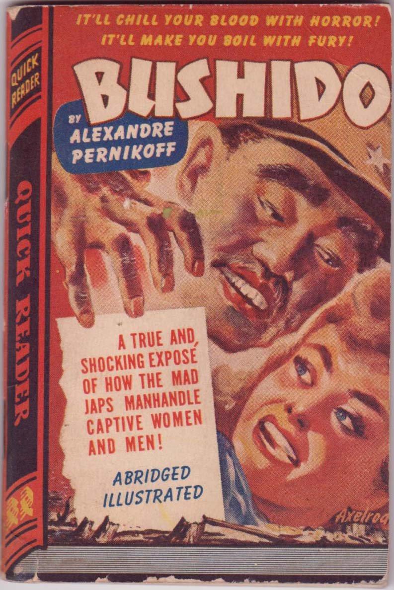 Bushido, Alexandre Pernikoff, Vintage Paperback Book, Quick Reader #109, War Drama