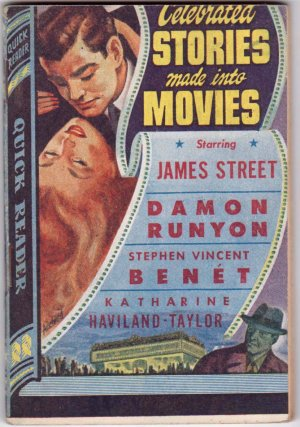 Celebrated Stories Made Into Movies, Vintage Paperback Book, Quick Reader #127