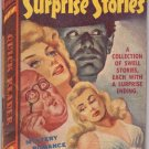 15 Short Surprise Stories, Anthology, Vintage Paperback Book, Quick Reader #124, Mystery, PBO