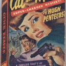 Cat and Mouse, Hugh Pentecost, Vintage Paperback Book, Quick Reader #128, Murder Mystery, Crime
