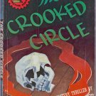 The Crooked Circle, Gerald Verner, Vintage Paperback Book, Digest, Black Cat #16, Mystery