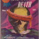 And Sudden Death, Cleve F. Adams, Vintage Paperback Book, Digest, Prize Mystery Novels #5, Murder