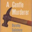 A Gentle Murder, Davis, Vintage Paperback Book, Dell #D-286, Mystery