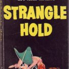 Strangle Hold, Mary McMullen, Vintage Paperback Book, Dell #713, Mystery