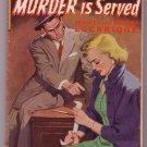 Murder Is Served, Lockridge, Vintage Paperback Book, Avon #363, Mystery, Detective