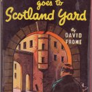 Mr. Pinkerton Goes To Scotland Yard, David Frome, Vintage Paperback, Pocket Book #124, Mystery
