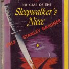 The Case Of The Sleepwalker's Niece, Gardner, Vintage Paperback, Pocket Book #277, Mystery