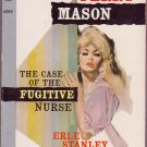 The Case Of The Fugitive Nurse, Erle Stanley Gardner, Vintage Paperback, Pocket Book #6045, Mystery