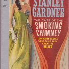 The Case Of The Smoking Chimney, Erle Stanley Gardner, Vintage Paperback, Pocket Book #6014, Mystery