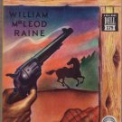 Trail's End, William MacLeod Raine, Vintage Paperback Book, Dell Mapback #179, Western