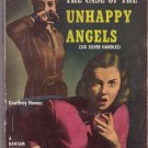 The Case Of The Unhappy Angels, Geoffrey Homes, Vintage Paperback Book, Bantam #779, Mystery