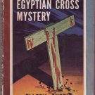 The Egyptian Cross Mystery, Ellery Queen, Vintage Paperback, Pocket Book #227, Mystery