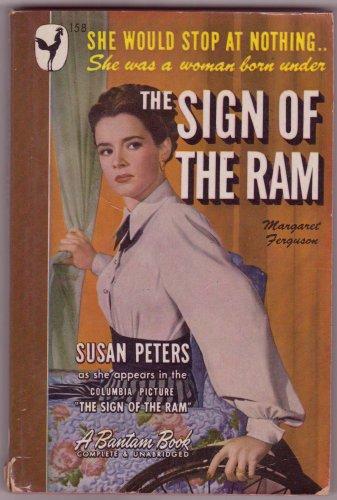 The Sign Of The Ram, M. Ferguson, Vintage Paperback Book, Bantam #158, Mystery