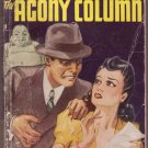 The Agony Column, Earl Derr Biggers, Vintage Paperback Book, Avon NO#-17, Mystery