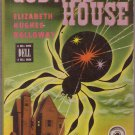 Cobweb House, Elizabeth H. Holloway, Vintage Paperback Book, Dell Map Back #133, Mystery