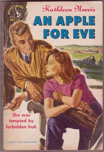 An Apple For Eve, Kathleen Norris, Vintage Paperback, Pocket Books #710, Romance