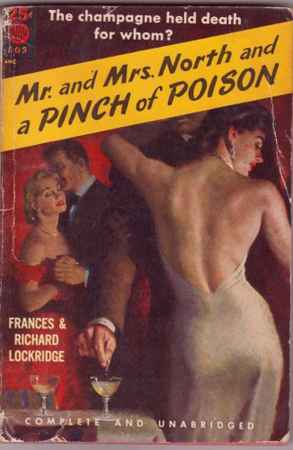 Mr. And Mrs. North And A Pinch Of Poison, Lockridge, Vintage Paperback Book, Avon #502
