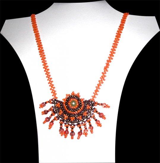 Mayan Sunset Necklace