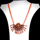 Mayan Sunset Necklace