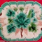 ANTIQUE MAJOLICA PLATTER c. 1865-1890, gm403