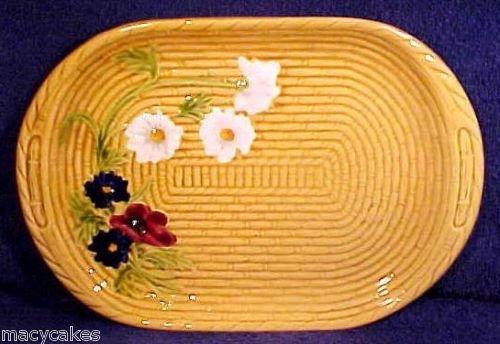 LARGE VINTAGE GERMAN MAJOLICA PLATTER SMF c.1930's, gm573
