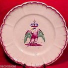 ANTIQUE ST.CLEMENT OR LES ISLETTES FAIENCE PLATE c1810, ff179