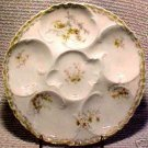 ANTIQUE HAVILAND LIMOGES OYSTER PLATE c.1888-1896, op54