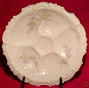 ANTIQUE GERMAN  OYSTER PLATE CIRCA 1930, op77