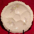 ANTIQUE GERMAN  OYSTER PLATE CIRCA 1930, op73
