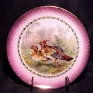 BEAUTIFUL IMPERIAL GERMANY GAME BIRD PLATE PURPLE. gp4