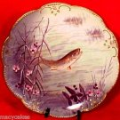 BEAUTIFUL HANDPAINTED  LIMOGES PLATE c1890-1910, p14