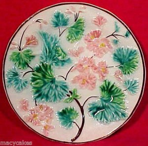 ANTIQUE GERMAN  MAJOLICA PLATE 19thCentury, gm570