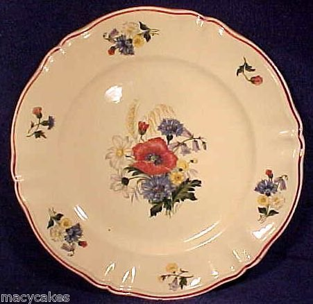 Large Antique Sarreguemines Majolica Faience Platter, ff195