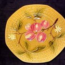 ANTIQUE GERMAN MAJOLICA POTTERY PLATE ZELL c.1907-1928, gm249